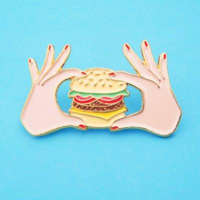 Burger Pin