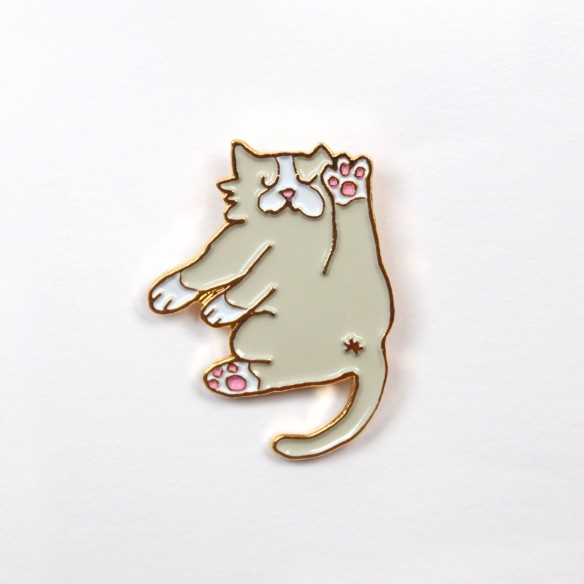 Flexible cat Pin