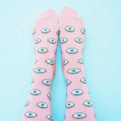 Chaussettes Oeil à paillettes
