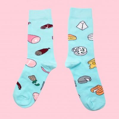 Chaussettes Charcuterie Fromage