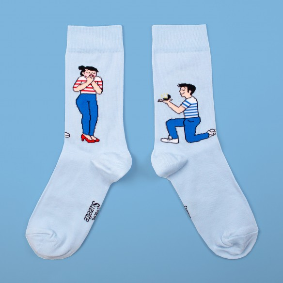 Chaussettes Mariage