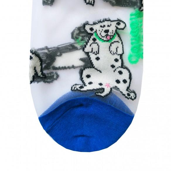 Chaussettes Transparentes Dalmatien