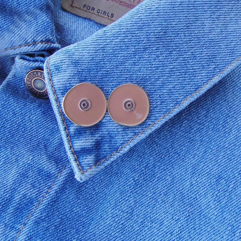 Black Boobs Pins