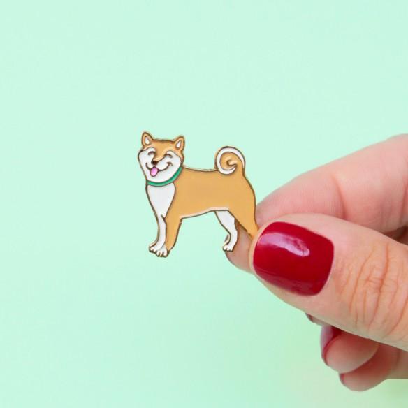 Pin's Shiba