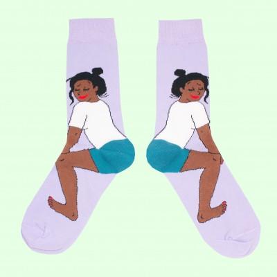 Twerk Socks - Black