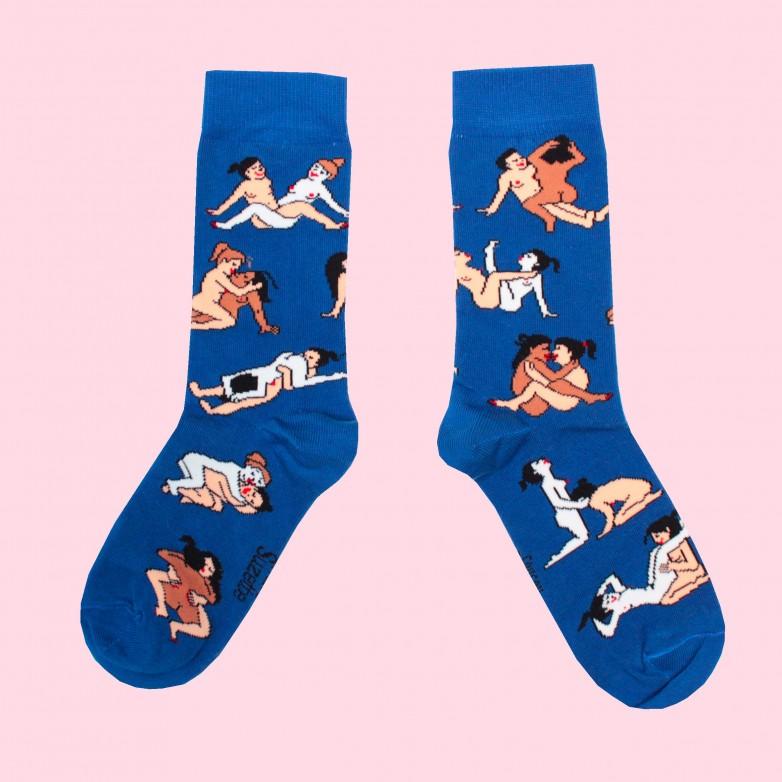 Kamasutra Socks - Gay Girls Lovers