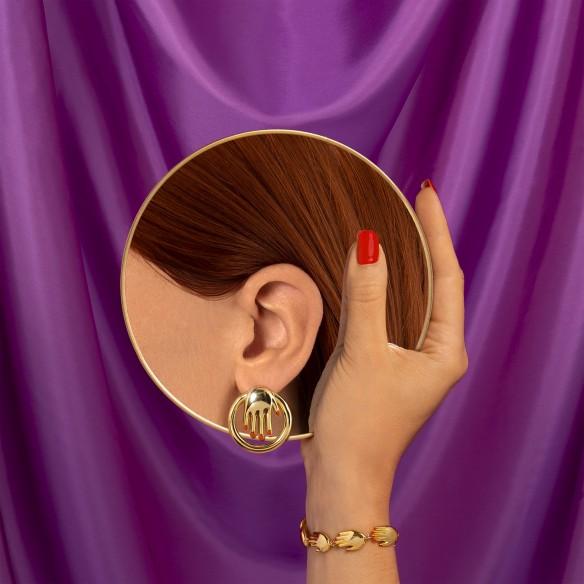 Boucles d'oreilles Mains