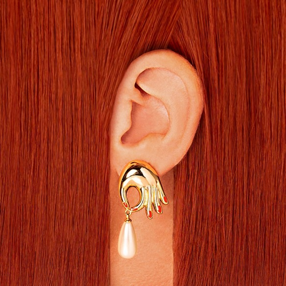 Boucles d'oreilles Perles