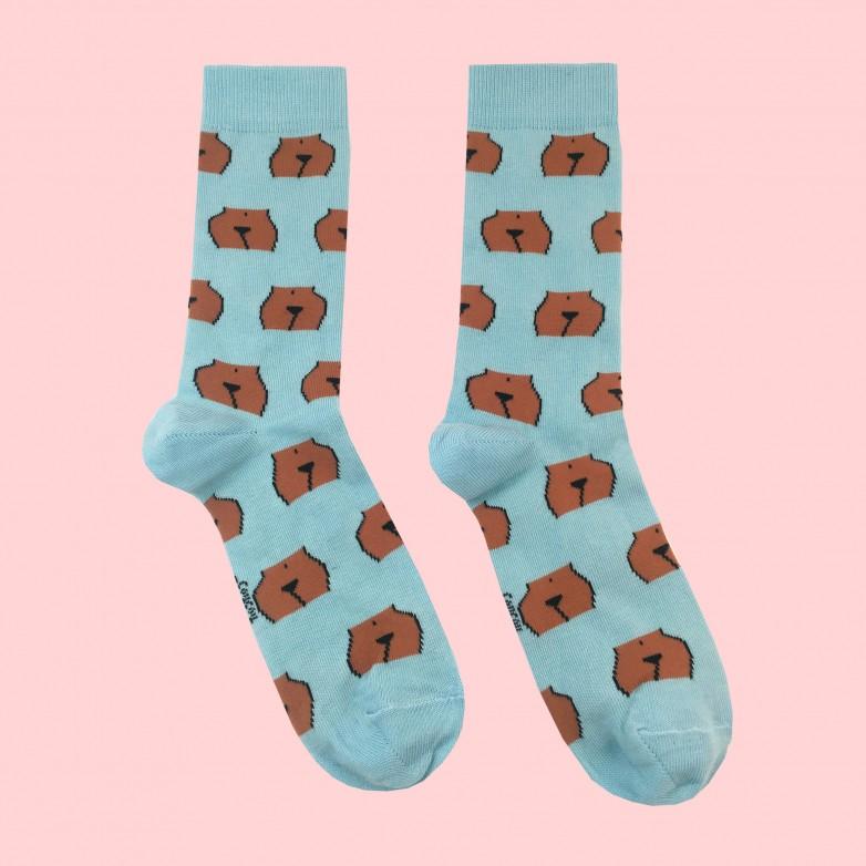 Pee-Pee Socks - Black