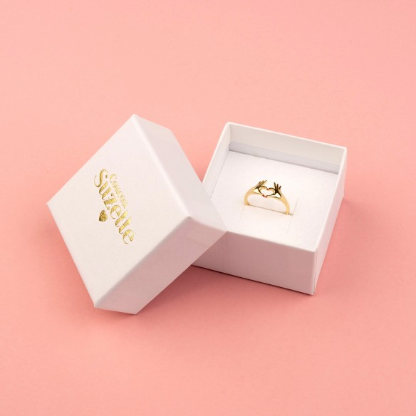 Love ring in packaging