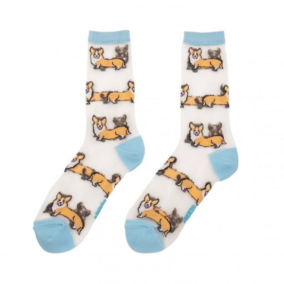 Coucou Suzette cute sheer socks