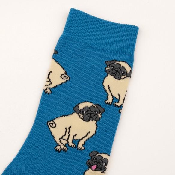 Cute pug socks