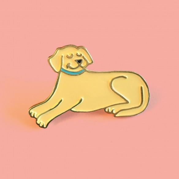 Golden pin Coucou Suzette