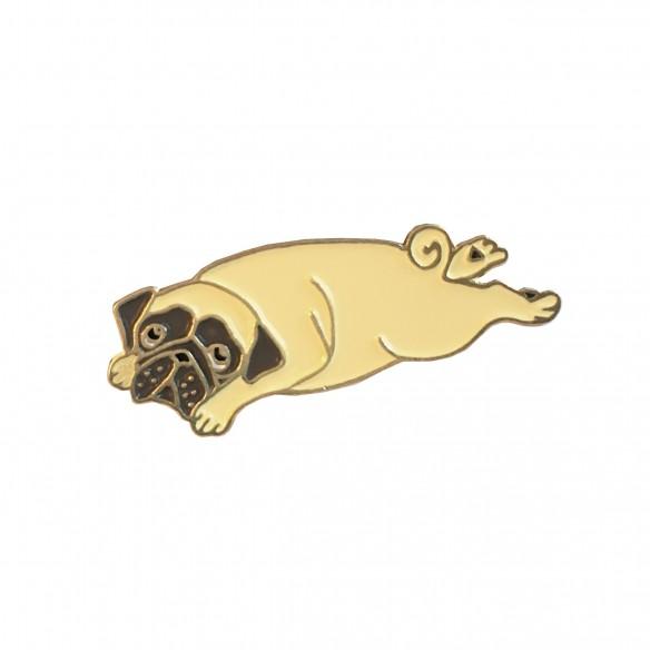 cute dog pin coucou suzette