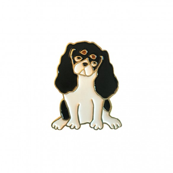 cavalier pin dog pin coucou suzette