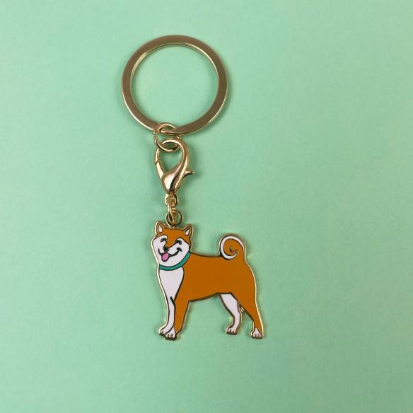Porte clé / Médaille Shiba