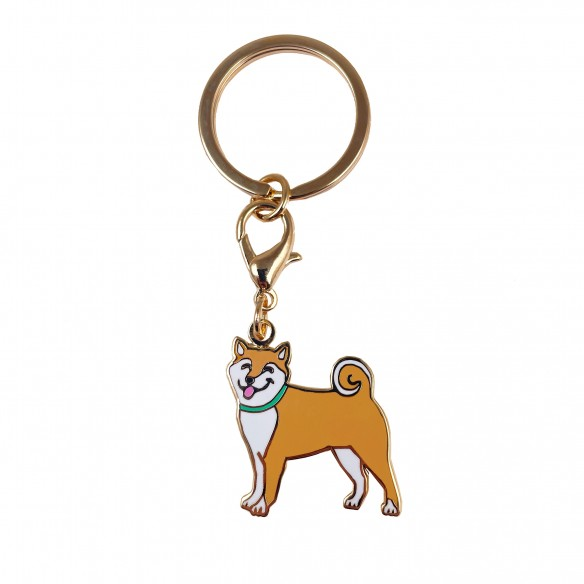 Shiba akita key ring dog collection coucou suzette