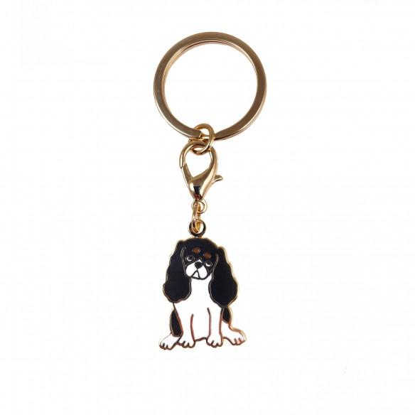 Dog key ring Cavalier coucou suzette
