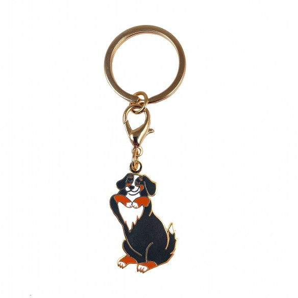dog key ring Bernese coucou suzette
