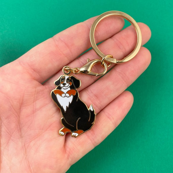 Bernese key ring coucou suzette