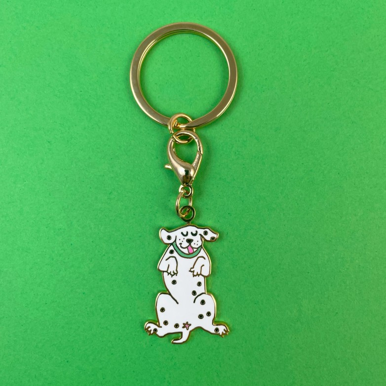 Porte clé / Médaille Dalmatien