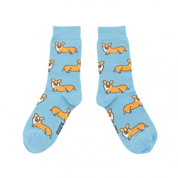 Cute Cotton corgi socks