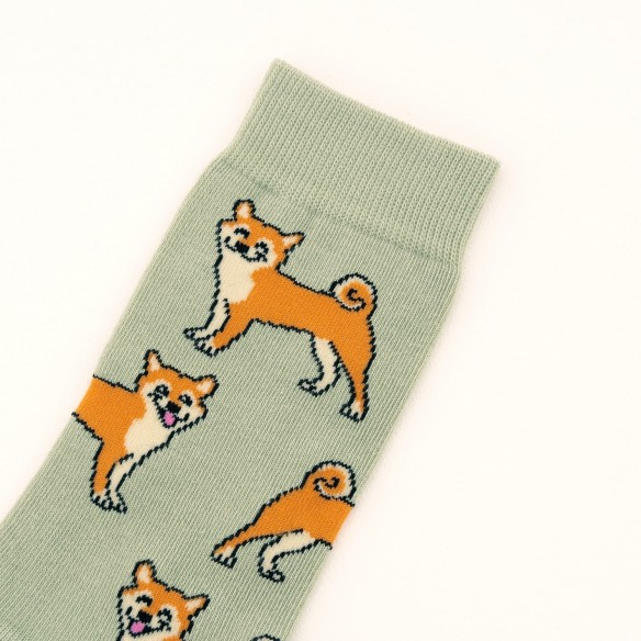 Close up akita cotton socks coucou suzette