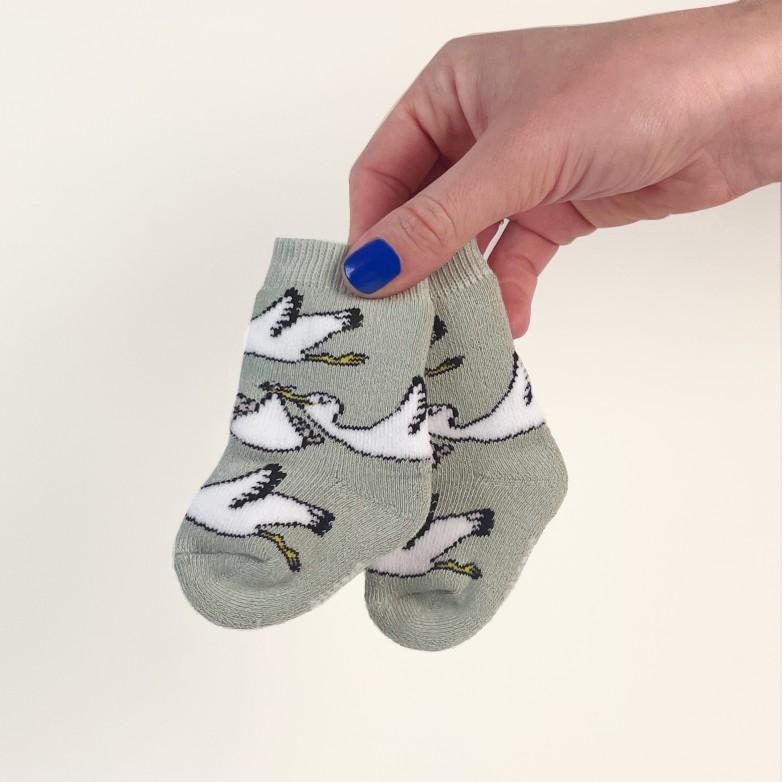 Stork socks - Baby