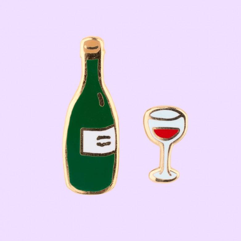 Wine Pins Set