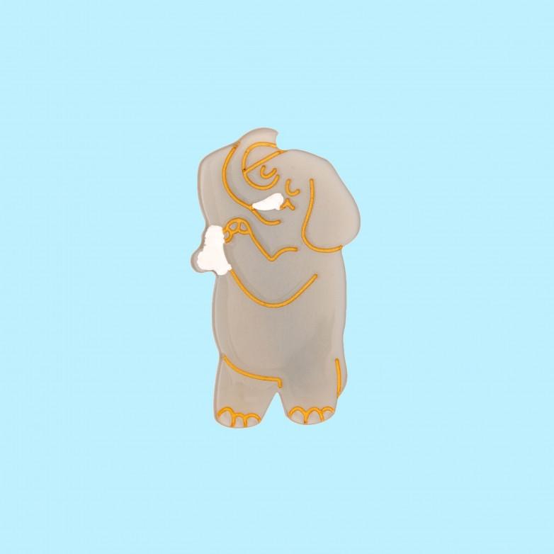 Barrette Douche Elephant