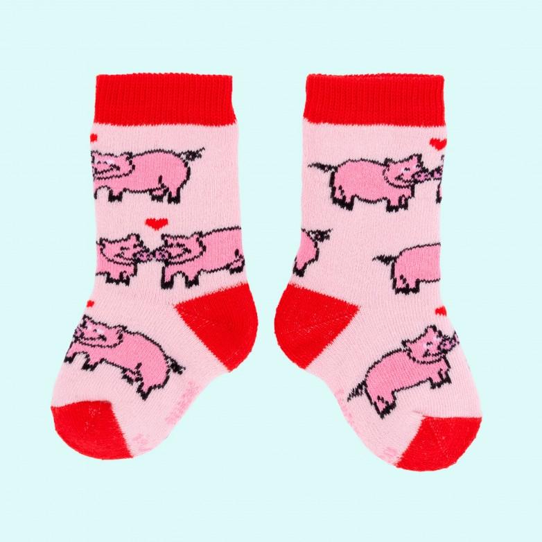 Chaussettes Cochons Amoureux