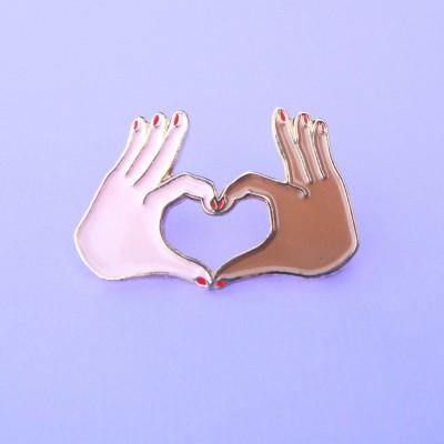 Pin's Amour - Métisse