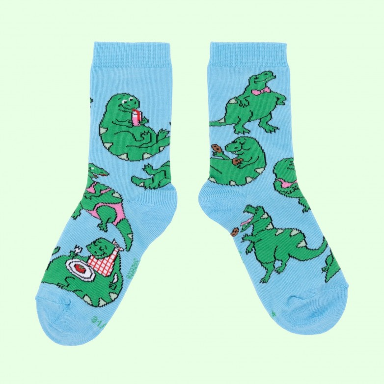 Chaussettes Dino