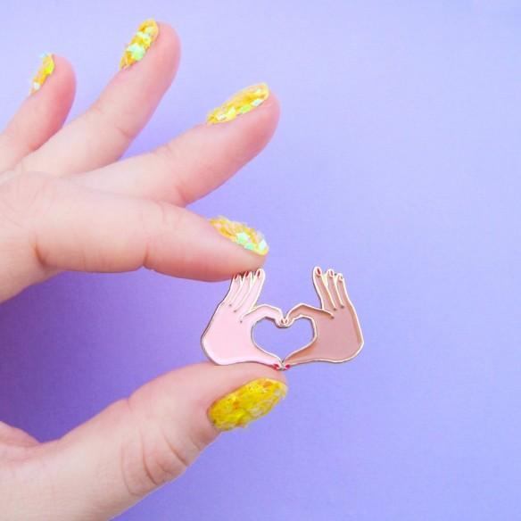 Love Pin - Mixed