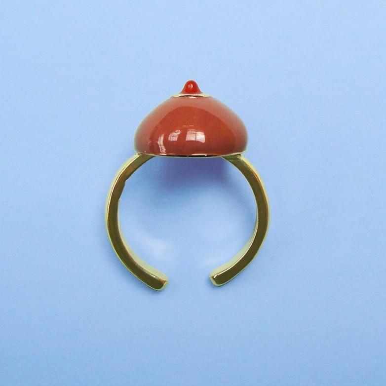 Black Boob Ring